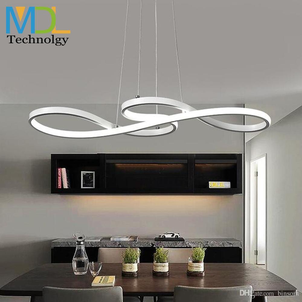 Moderne led deckenleuchten für küche bad flur gang led pendelleuchte  einfache kreative design innenbeleuchtung luminare