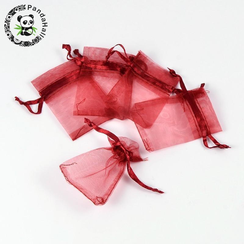 Sacos de Organza para o empacotamento 7x5cm da jóia