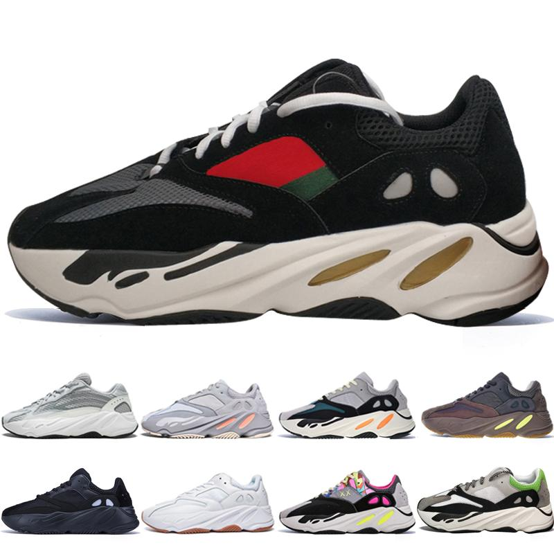 With Box Best Quality Kanye West 700 V2 Static 3M Mauve Inertia 700s Wave  Runner Mens Running Shoes for Men Women Sports Sneakers Designer Online  with ... 7933a7587