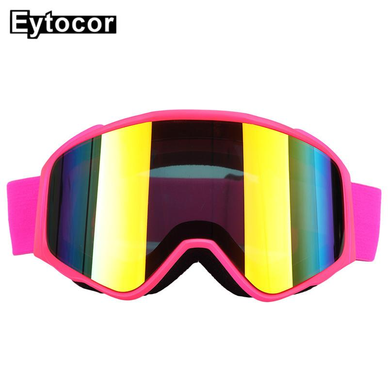 43aa58d7c23 New Professional Ski Goggles Snowboard Men Women Double Layers Anti ...
