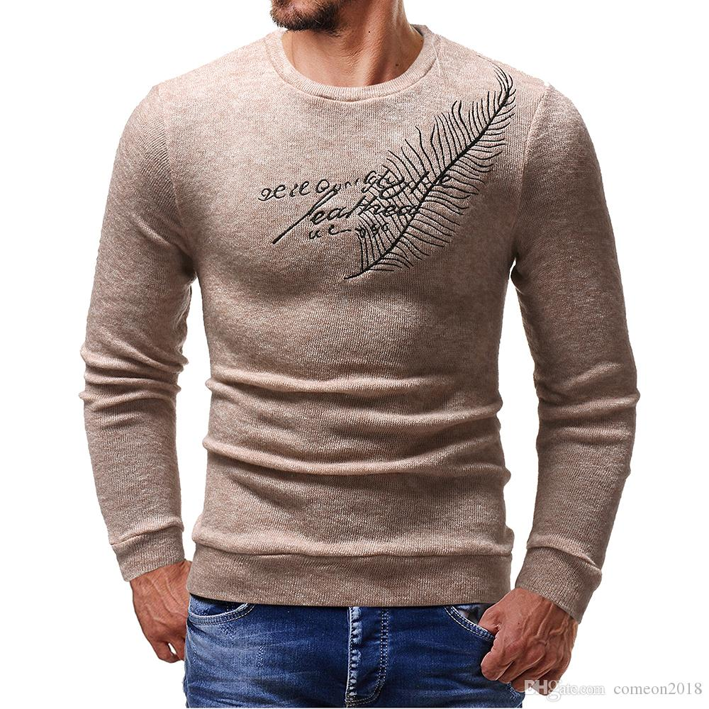 2019 Designer Mens Luxury Sweaters Knit Wool Embroidered Jumper Sweatshirt Men Sports Sweater Coat Jacket Pullover Designs Cardigan Designer