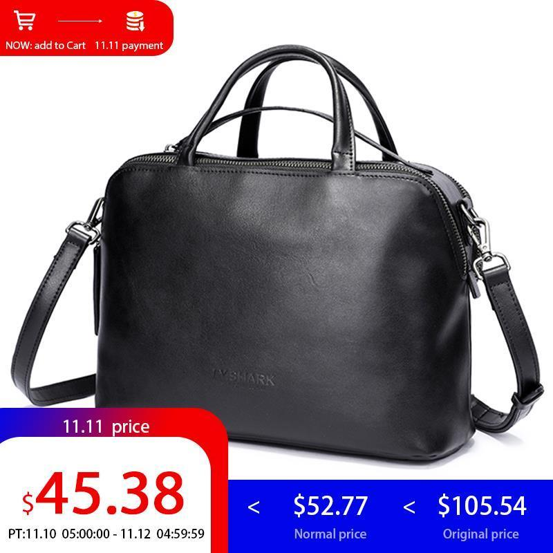 e78fd16c24 2019 Fashion LY.SHARK Messenger Bag Women Shoulder Bag Handbag Female Bag  Ladies Genuine Leather Crossbody Bags For Women 2018 Luxury Brand Crossbody  Bags ...