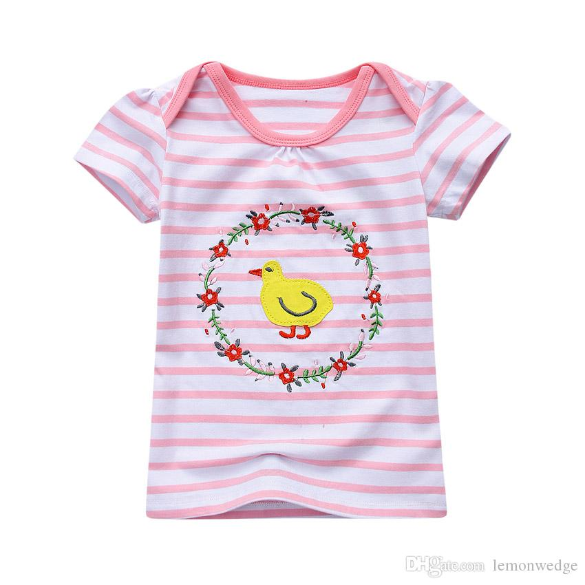 8 Design New Fashion Children Cotton T-shirt for Boys Clothing Baby Girls Tops Kids Tee Shirt Animal Pattern T-shirts
