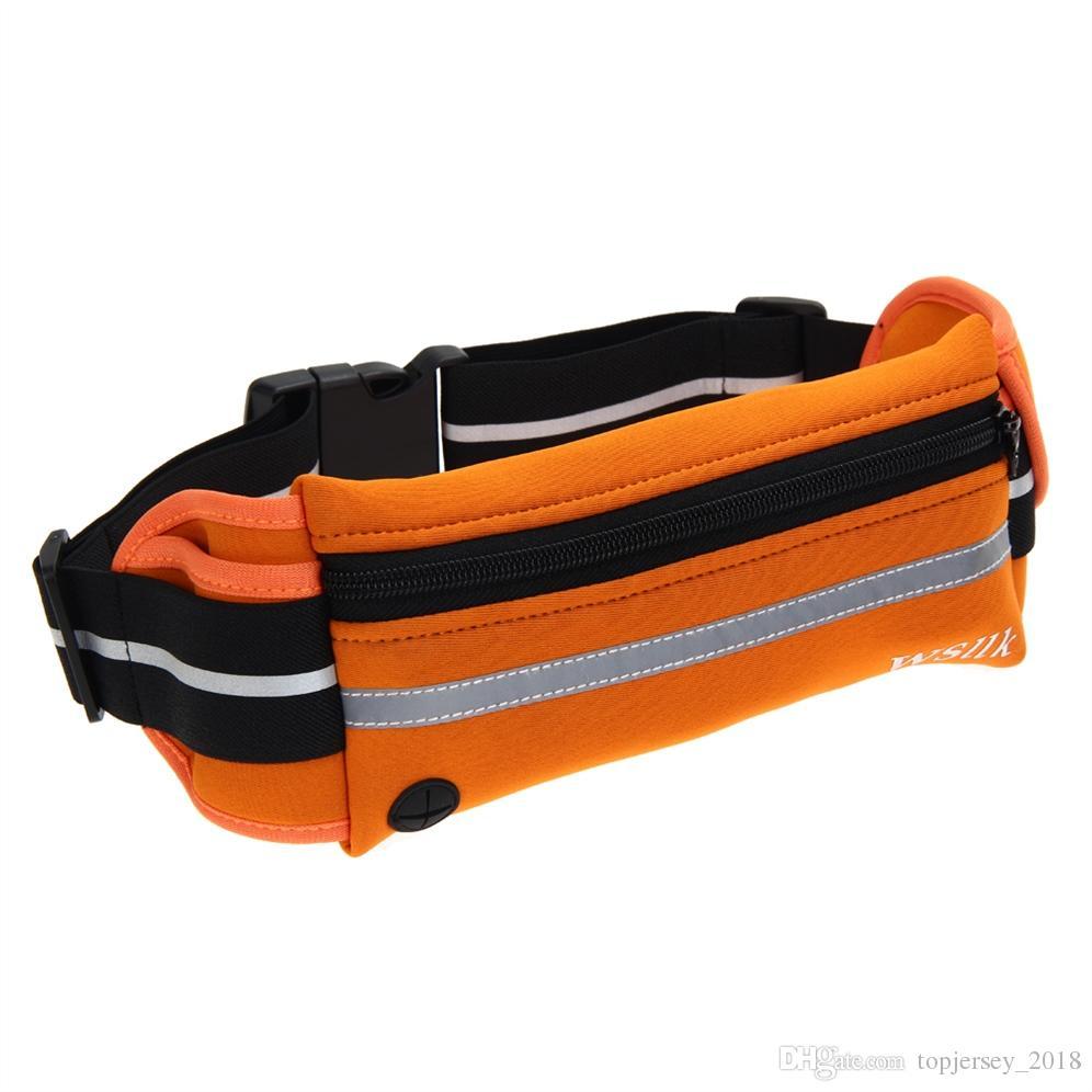 4d4ae2adae02 Waist Bag Unisex Running Bum Bag Waterproof Phone Belt Travel Handy Hiking  Outdoor Sport Waist Belt Zip Fanny Pack Running #171323
