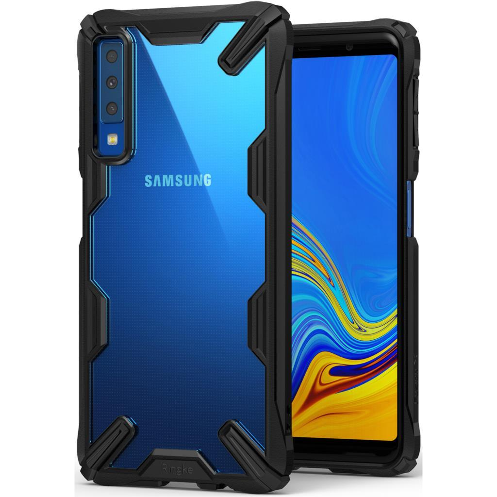 34e36c013 Compre 100% Original Ringke Fusion X Case Para Samsung Galaxy A7 2018 Grau  Militar Resistência Gota Anti Slip Casos Híbridos De Affirmation