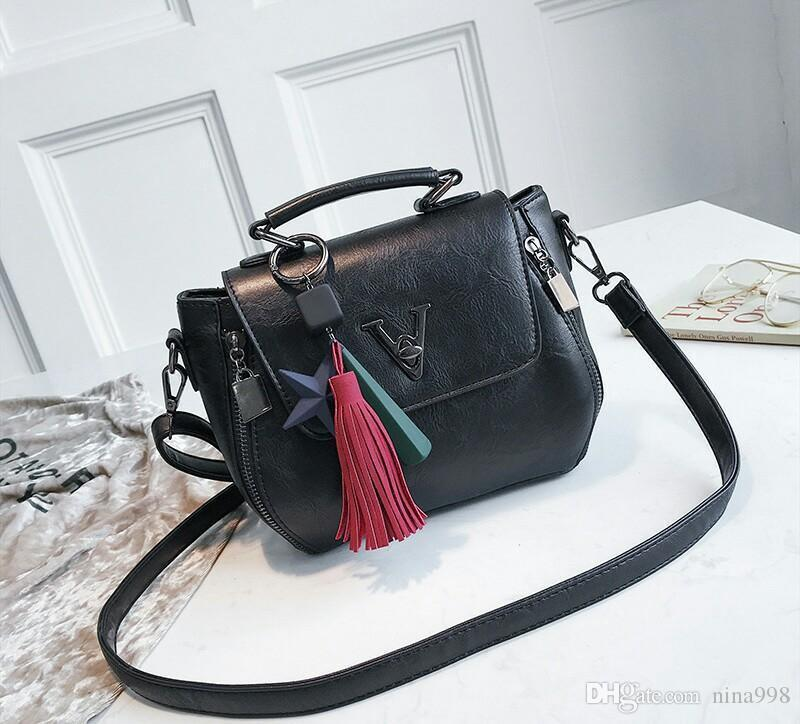 2019 New Lady Fashion Hot donne coreano stile borsa con singolo Shouder cento e fino squisita