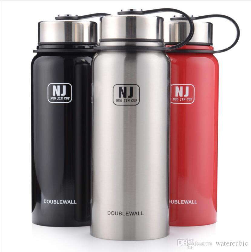 25Oz 750ml Double Wall Stainless Steel Vacuum Insulated Wide Mouth Water Bottle Thermos Keeps Cold and Warm Joyshaker Sports Flask Customize