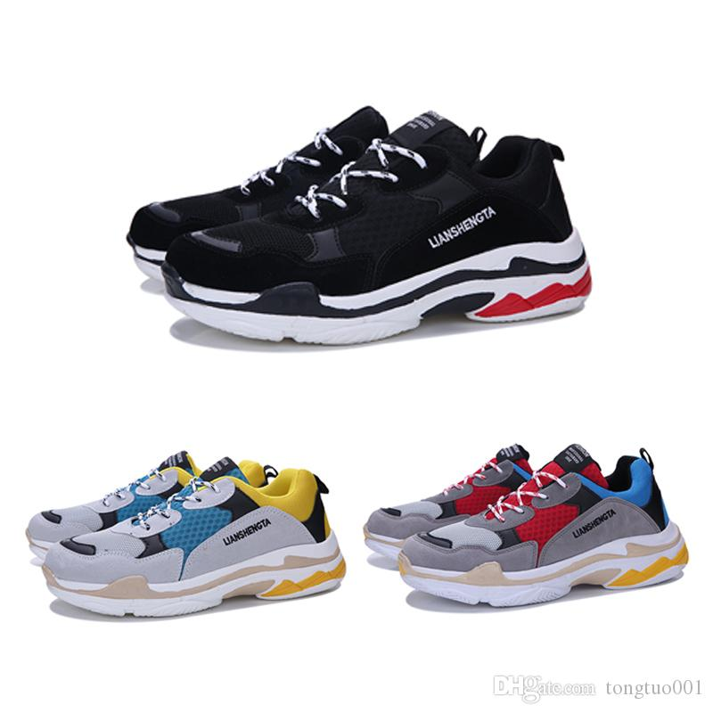 719c563967008 2019 New Running Shoes Sports Paris Family Couple Shoes Air Cushion ...