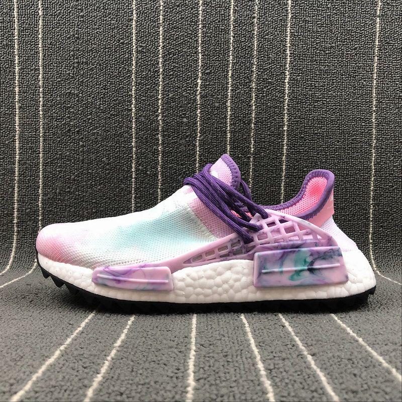 promo code 62c7c e28b4 Pharrell Williams Human Race AC7362 resplandor rosado hu holi zapatillas  deportivas zapatillas zapatillas de deporte verdaderas zapatillas de  deporte ...