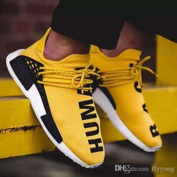 bf10547eb 2019 New Human RACE HU Nmd Pharrell Williams Trail Mens Designer Sports  Neutral Spikes Running Shoes For Men Sneakers Women Casual Trainers Shoe  From ...