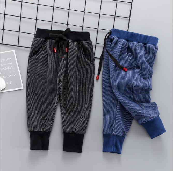 9d7c81996f Baby Boys Pants Cotton Boys Casual Long Trousers Kids Clothing Pants  Elastic Waist Jogger Pant