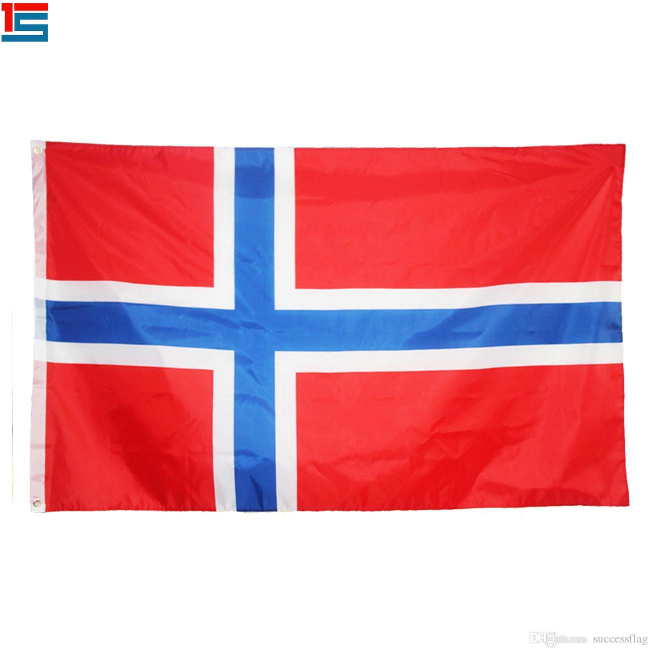 a8a54f26cf Compre Impressão Digital Bandeira Da Noruega Bandeira Nacional Da Bandeira  De País Do Poliéster De 90 X De 150 Cm Com Dois Ilhós De Successflag, ...