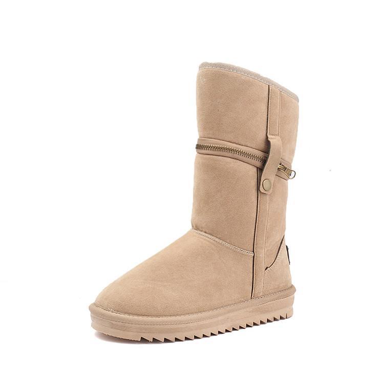 Compre Clásico Botas De Invierno Para Mujer Damas Botas De Nieve Para Mujer  Botines De Invierno Zapatos De Invierno A  60.31 Del Tongtuo001  47638430a679f