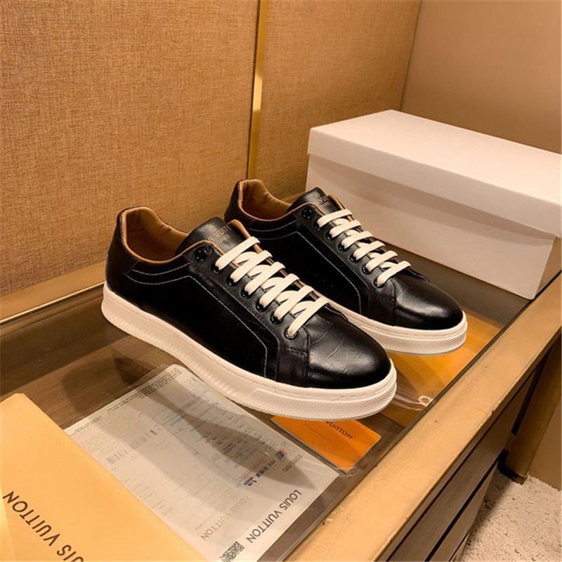 con cordones de los zapatos Oxford suave de alta calidad de la PU de cuero de negocios vestido de hombre a hombre zapatos para hombre de la moda personalizada Corea Pisos hombres ocasionales de la