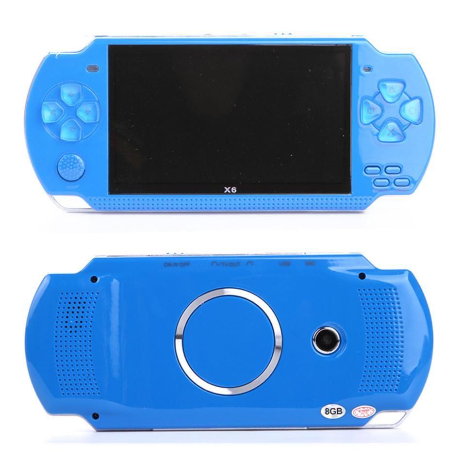 Écran de console de jeu portable PMP X6 pour PSP Game Store Jeux classiques Sortie TV Lecteur de jeu vidéo portable