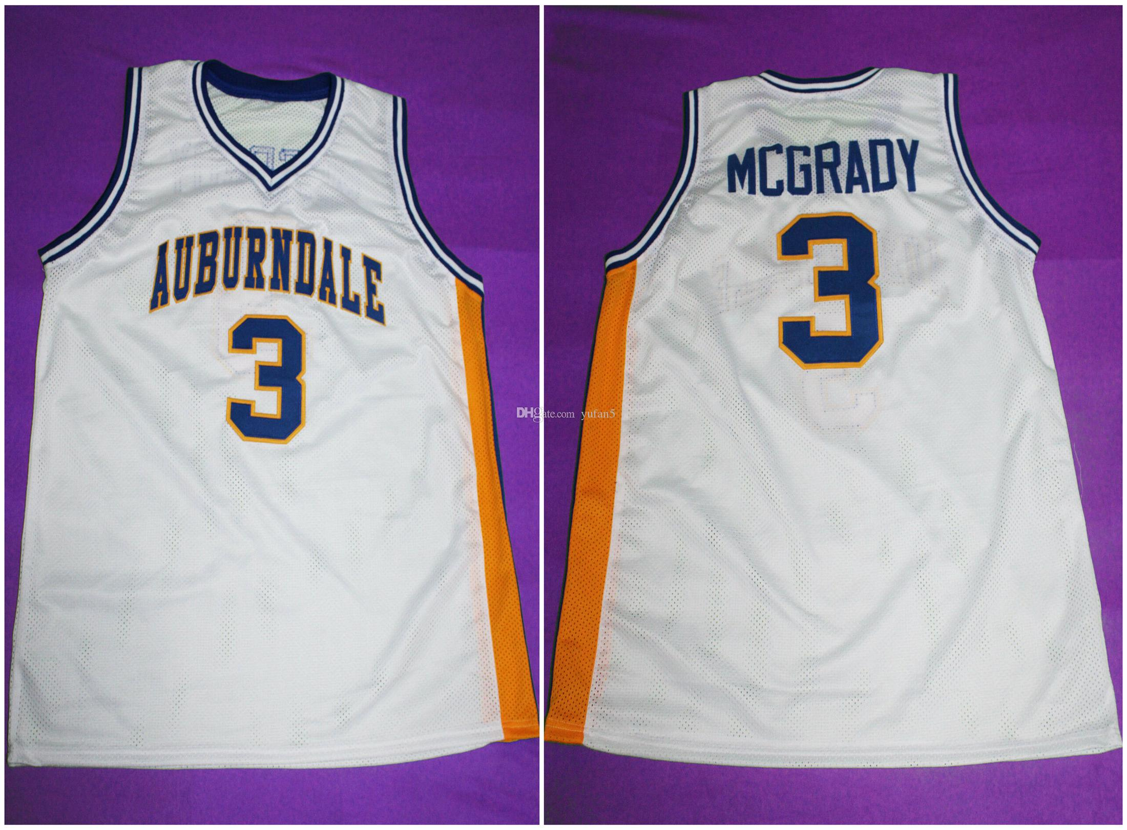 cf6c7129d 2019  3 TRACY McGRADY AUBURNDALE HIGH SCHOOL Retro Classic Basketball Jersey  Mens Stitched Custom Number Name Jerseys From Yufan5