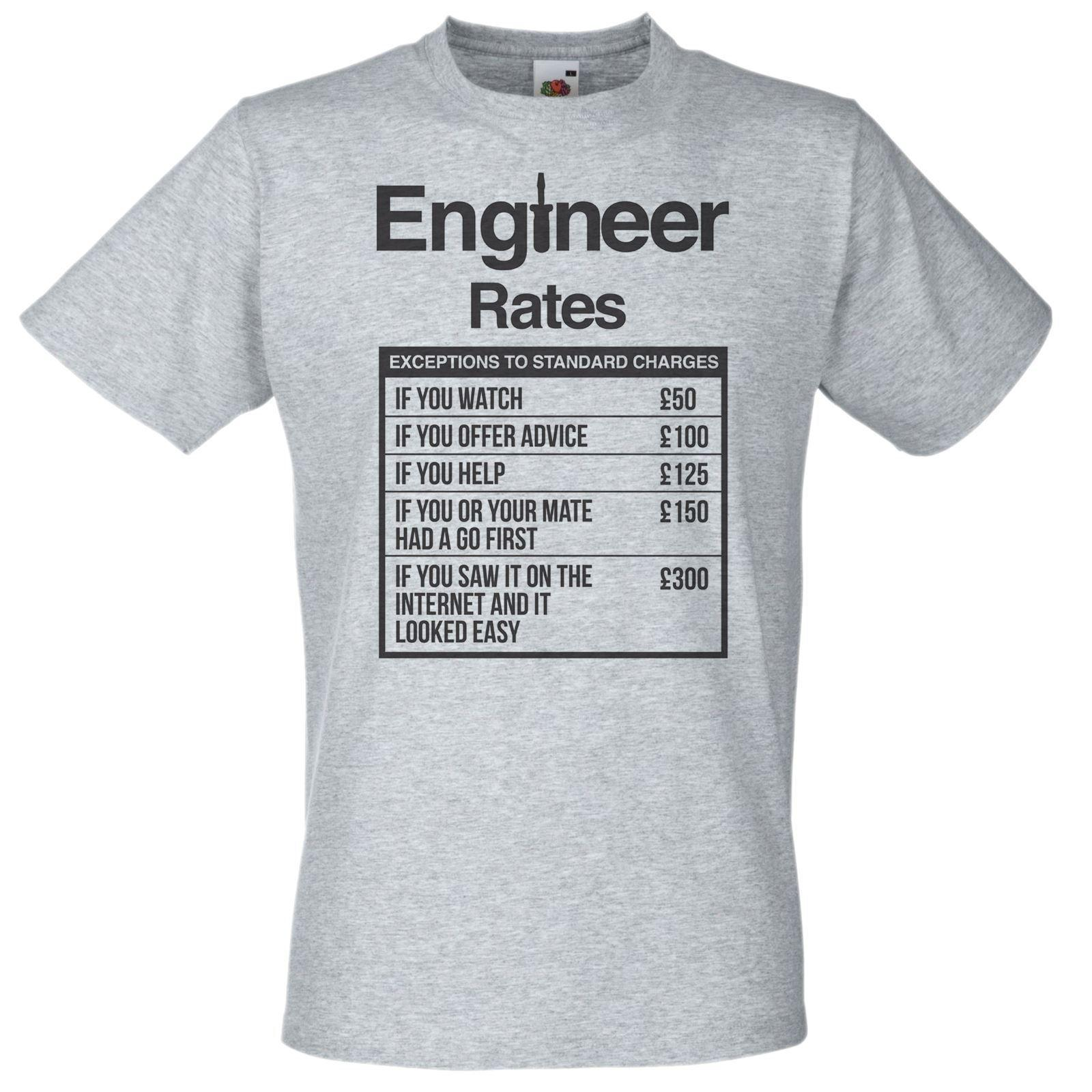 32d7cc662 Mens Grey Engineer Rates T Shirt Engineer Student TShirt Funny Novelty Gift  Idea Funny Unisex Cool T Shirts Online Funny T Shirts Online From  Clothing_deals ...