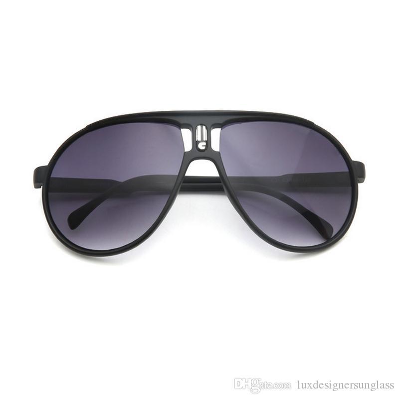 45f0ac6d7d Women Men Letter Brand Designer Sunglasses Full Frame UV Protection Sun  Glass With Stamp Hallmark For Sport Driving Round Sunglasses Cheap  Eyeglasses From ...