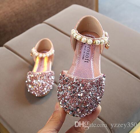 1867fdca83d98 nouvelles filles sandales princesse bébé fille chaussures enfant en ...