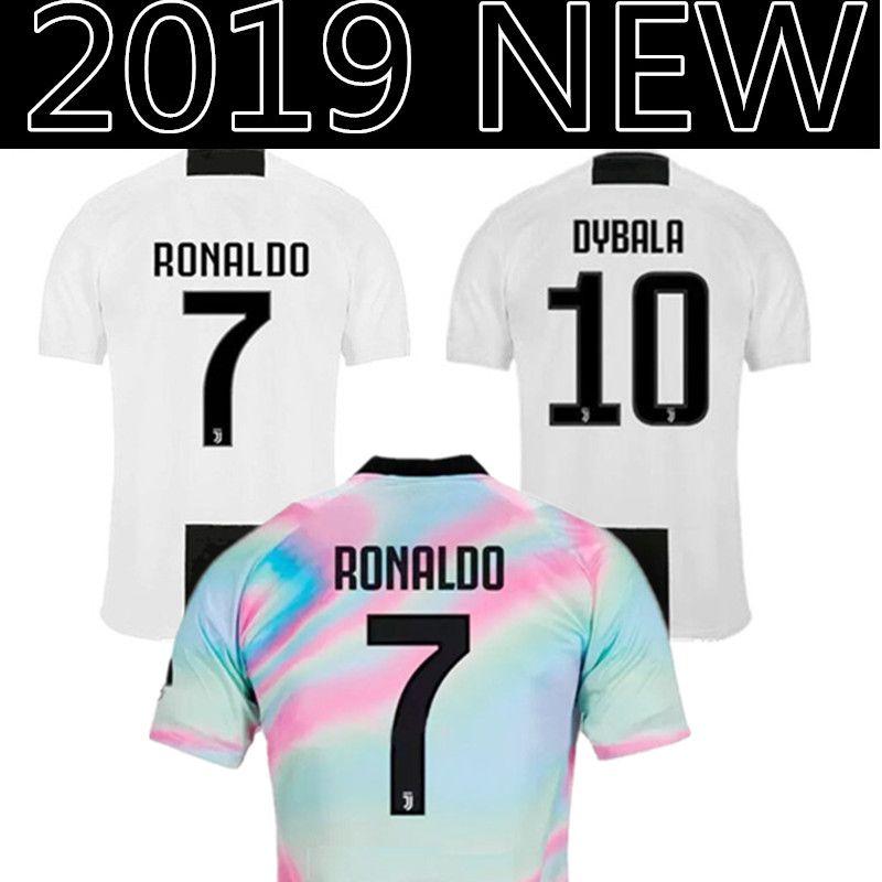 5ecc6a36bf1 2019 Juventus RONALDO 7 Soccer Jersey HIGUAIN 9 DYBALA 10 Mandzukic 17  Bernardeschi 33 D. Costa 11 Cuadrado Football Shirt Juventus From  Topmensjersey2018