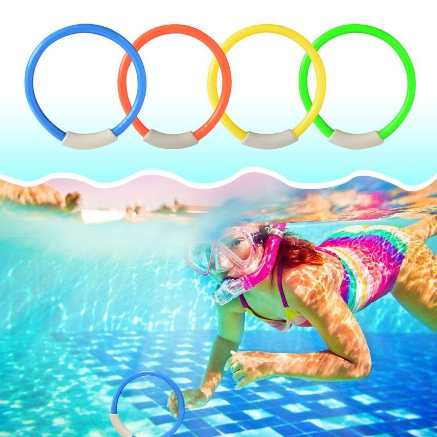 2019 Dive Ring Swimming Pool Accessories Swimming Toys For Children ...