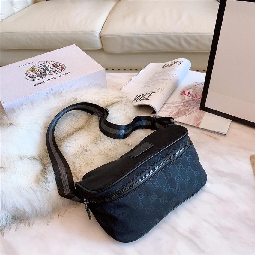 363e4af66e74 Brand New Waist bags Genuine Leather Fanny Packs Unisex Men and Women's  Famous Brand Chest Handbag