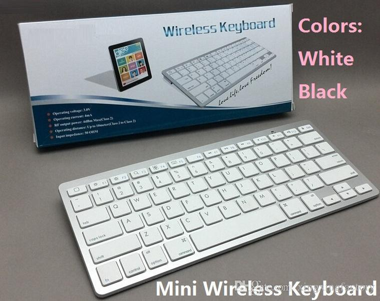 af0ba3496ad 2.4Ghz Ultra Slim 78 Keys Wireless Bluetooth Keyboard For IPad IPhone 6s 7/8  Samsung S7 S8 Note 8 Windows Tablet PC Keyboard For Laptop Keyboard For  Sale ...