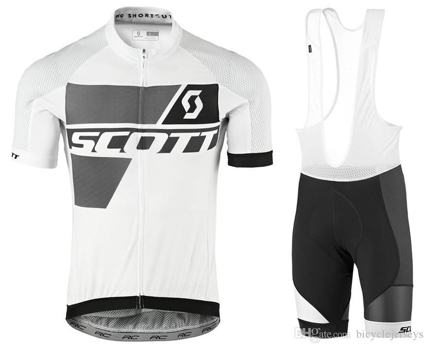 b0a7b821bb4 2018 Scott 2018 Cycling Jersey Men s Style Short Sleeves Cycling Clothing  Sportswear Outdoor Mtb Ropa Ciclismo Bike Short Sleeve Breathable Cycling  Jerseys ...