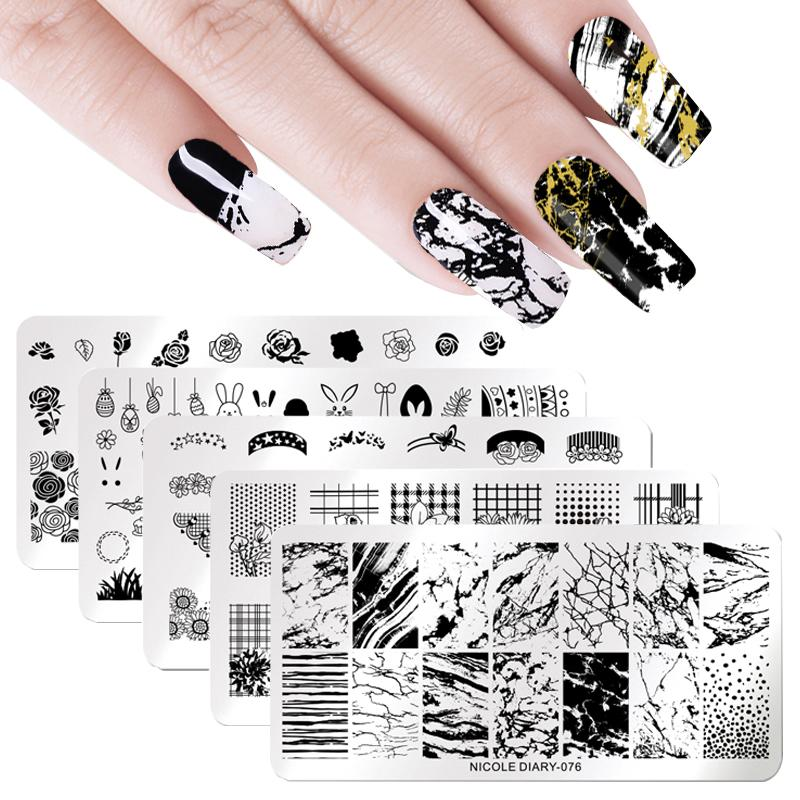 1 Pcs Scraper 1pcs Stamper With Cap Double Ended Nail Art Stamper Template Scraper Silicone Stamping Plate Stamp Consumers First Nail Art Nails Art & Tools