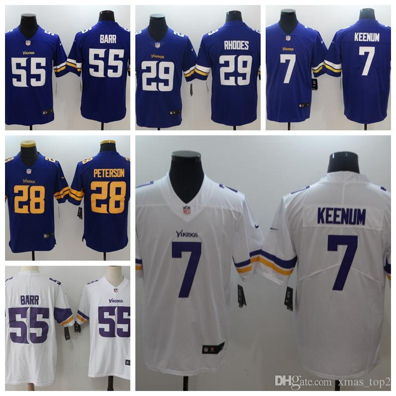 Mens 7 Case Keenum Jersey Minnesota Vikings Football Jersey 29  for cheap