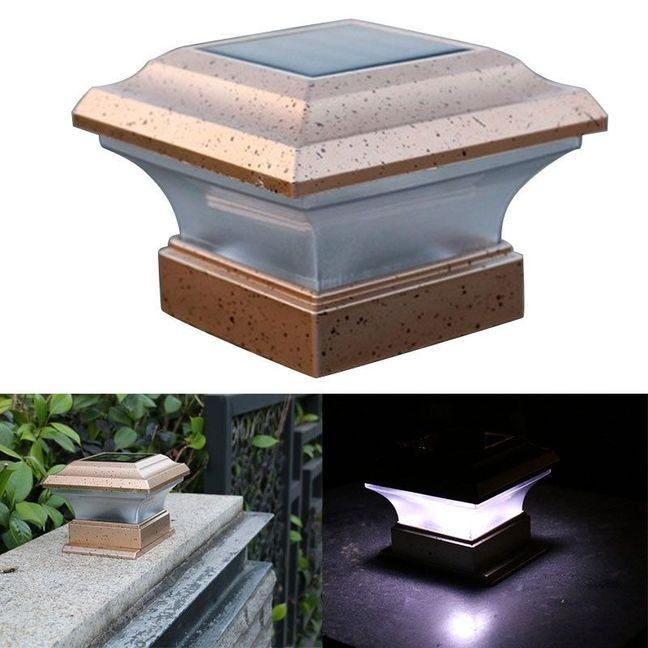 Außenbeleuchtung Led Solar Licht Outdoor Solar Licht Zaun Yard Post Pool Led Platz Licht Hof Landschaft Garten Lampe