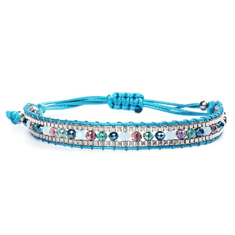Handmade Bohemia Weave Rope Friendship Bracelets For Woman Men Miyuki Seed Beads Charm Bracelet & Bangles Ethnic Jewelry Gifts