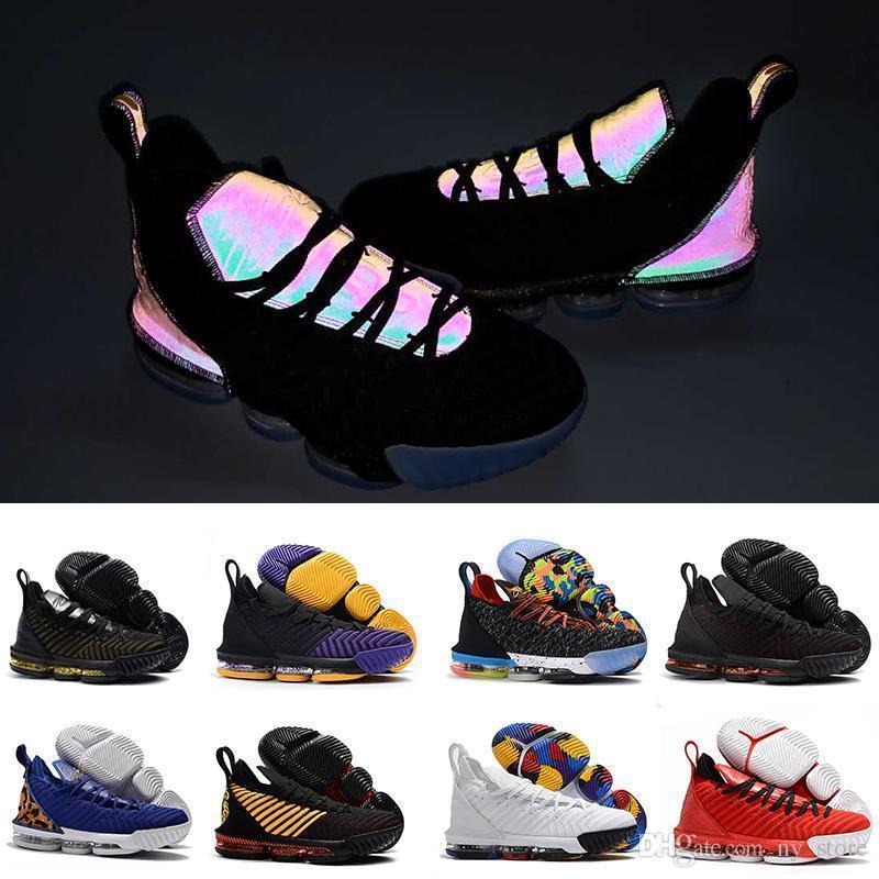 newest 347c4 700a3 Großhandel Away Equality Lebrons Home Pack James 16 Schwarz 1 Bis 5 Männer  Schuhe Ich Verspreche 16s Black Gold Mens Trainers Sports Sneakers 7 12 Von  ...