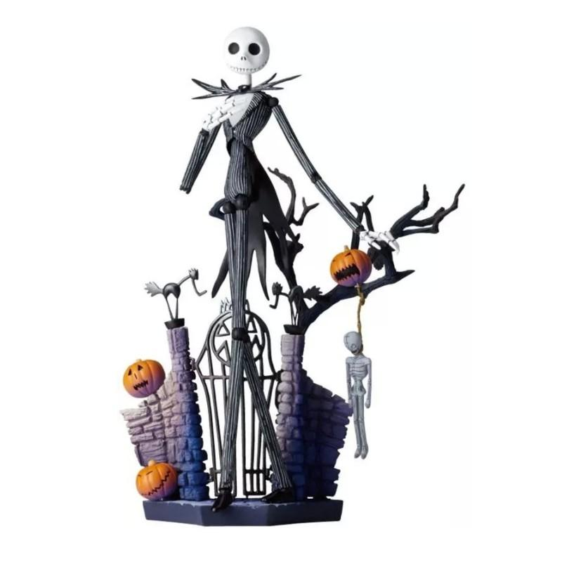 Skull Jack Figures The Nightmare Before Christmas Cartoon Figure Can Change Face Figma With Box Popular Famous 83jm D1