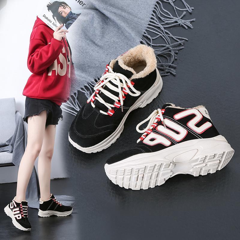 Platform Acquista Fur Inside New Altezza Sneakers Donna Bomuce 6y7fvIYbg