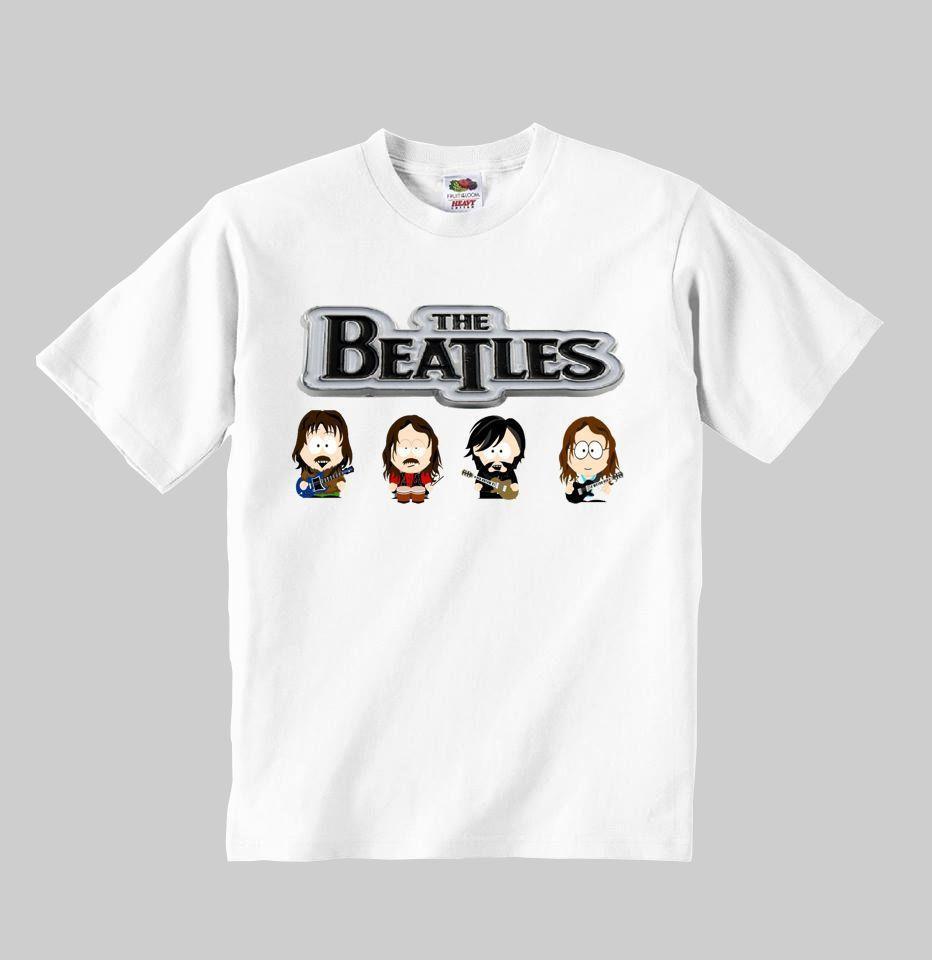 84746c1fb Compre Modelo De Camiseta THE BEATLES  5 Ropa Niño Pequeño Niño Pequeño Niño  Tamaño  1 8 Y Cool Casual Pride Camiseta Hombre Unisex Nueva Moda A  13.91  Del ...