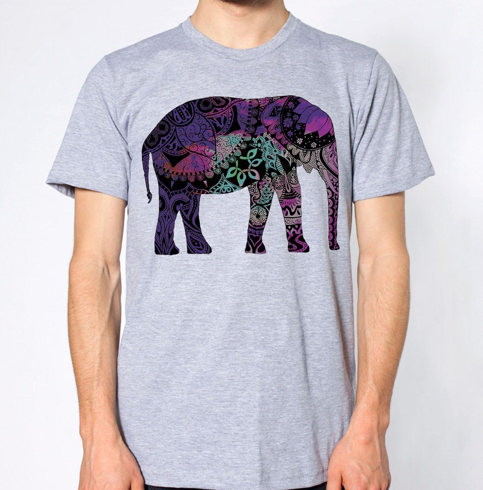c22b7211 Elephant New T Shirt Animal Lover Top Abstract Tee Graphic Design Tees  Custom Jersey Brand Shirts Jeans Print T Shirt Shop Design Crazy T Shirts  Online From ...