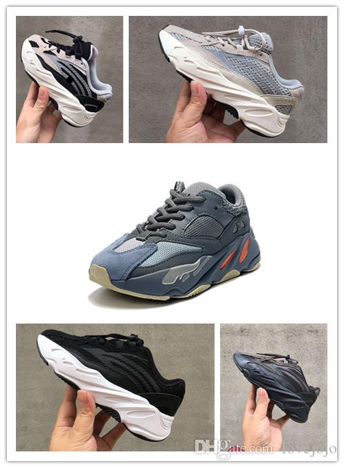 premium selection be9be b3028 Adidas yeezy boost 700 2019 New Big Kids 700 Wave Runner für Kid Mauve  Sneakers Jugend Inertia Sneaker Pour Enfants Chaussures
