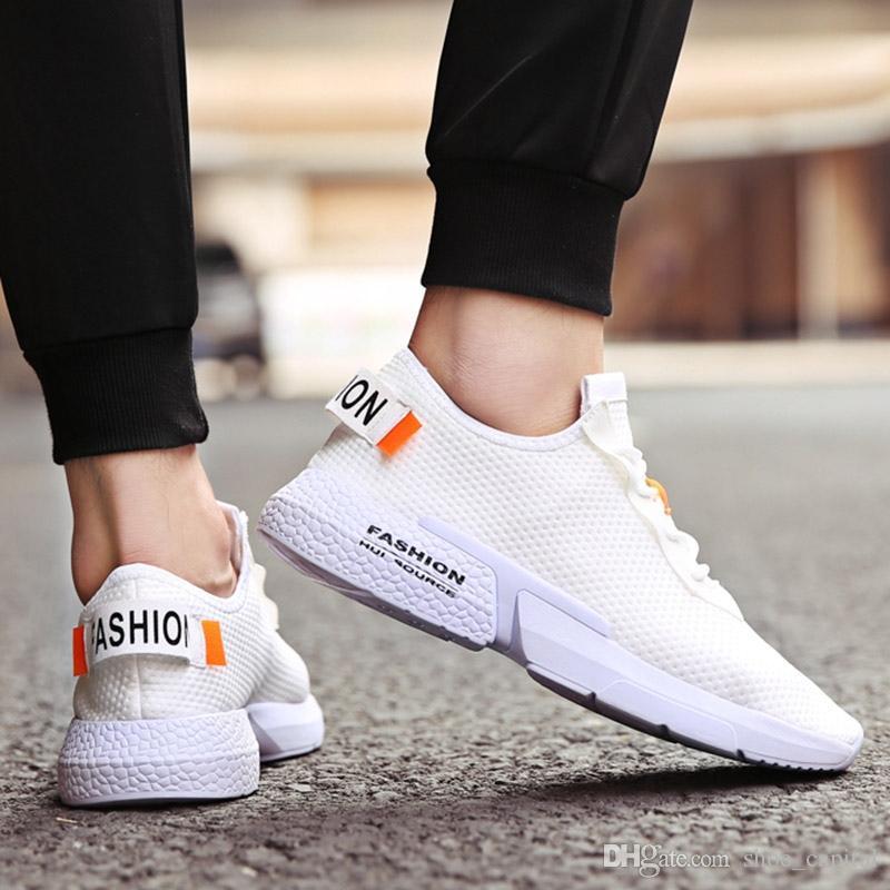 0fad1ccfada35 ... Diseñador Vulcanizado Zapatos Hombres Más El Tamaño 47 Zapatillas De  Deporte Respirables De Los Hombres Zapatos De Goma Tenis Calzado Para Hombre  ...