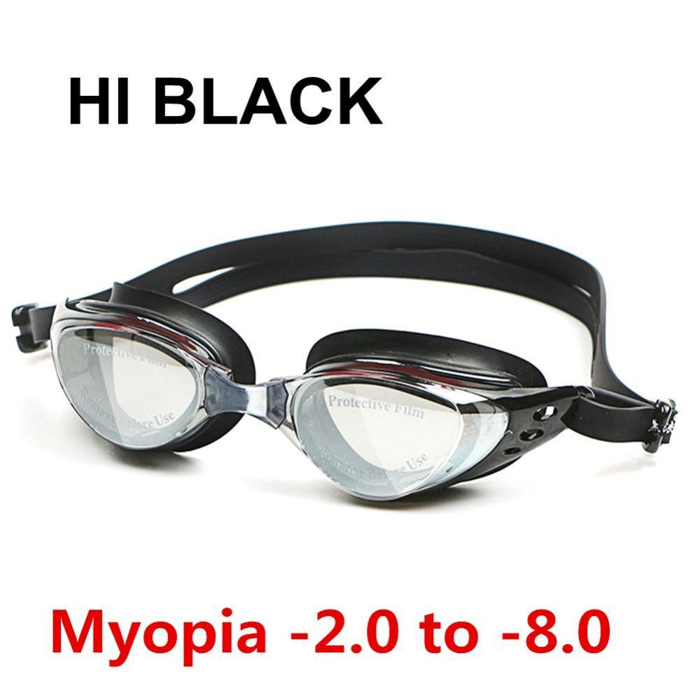 6d0e376ce57 2018 Wholesale Swim Silicone Anti Fog Coated Water Diopter Swimming Eyewear  Glasses Mask Adult Prescription Optical Myopia Swimming Goggles From .