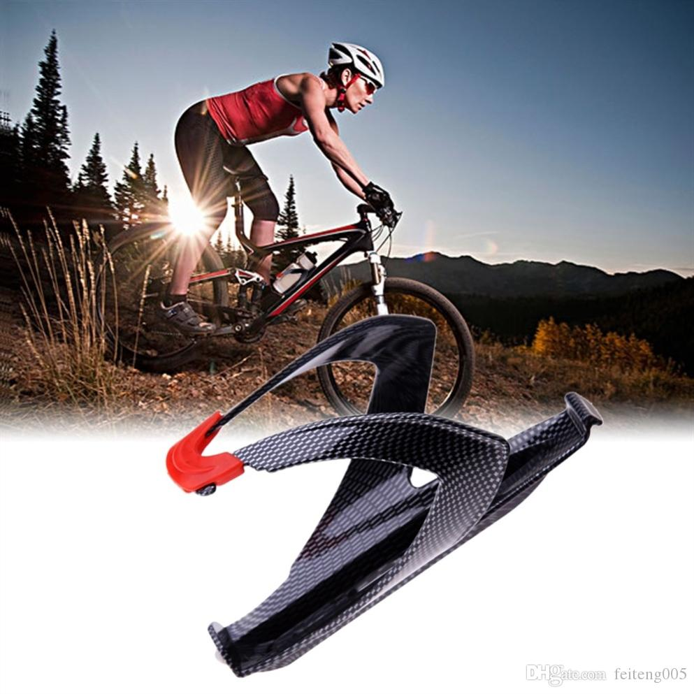 a12b0c93816 2019 Light Weighted Carbon Fiber Bicycle Bottle Holder BMX MTB Mountain  Road Bike Cycling Water Bottle Rack Cage Bicycle Accessories  80953 From  Feiteng005