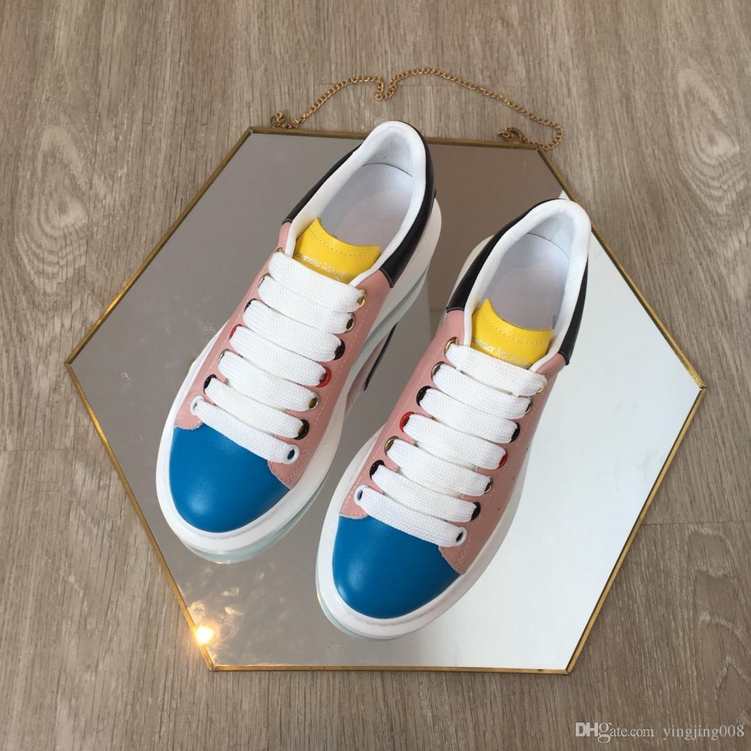 Fashion Sneaker Wedges Flats Platform