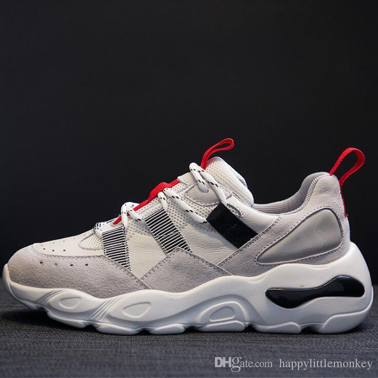 c60ab39a284e 2019 Spring Popular Women s Designer Sneakers Contrast Color Fashion ...