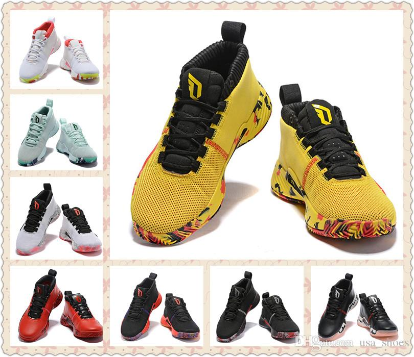 factory price e0234 8905e Dame 5 CNY All Skate People s Champ Black Yellow Red Mint Green Men  Designer Sports Shoes Damian Lillard 5s mens athletic trainer
