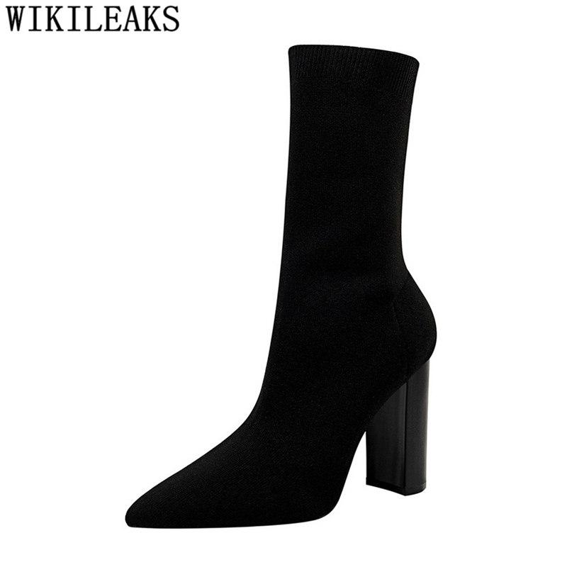 super cheap fresh styles promo codes women shoes mid calf boots for women high heels boots 2018 womens shoes  socks chaussures femme botas mujer