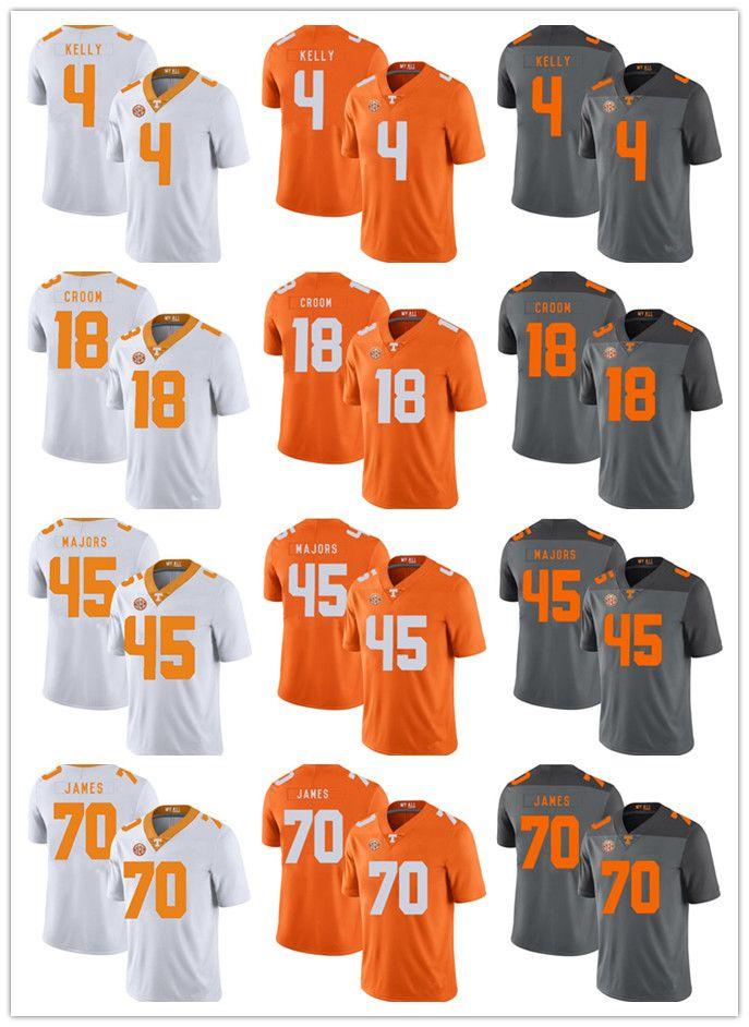 competitive price bb6bc 71ba9 Custom Men Women Kid Tennessee Volunteers Football Jersey Jason Croom Ja  Wuan James John Kelly Johnny Majors Legendary Football Shirts