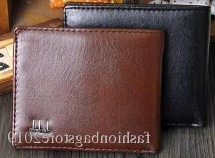 Hot Sale! Men Short Wallet, Classic Fashion Male Patchwork Purse With Coin Pocket &card Holder With Gift Box
