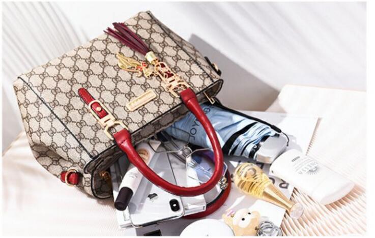 Señoras de la moda Bolsas de diseñador de lujo de cuero de la pu Bolsos de hombro Bolsos Bolsos Top Manijas Bolsas de mensajero del cuerpo de la Cruz bolsos de las mujeres bolso de embrague