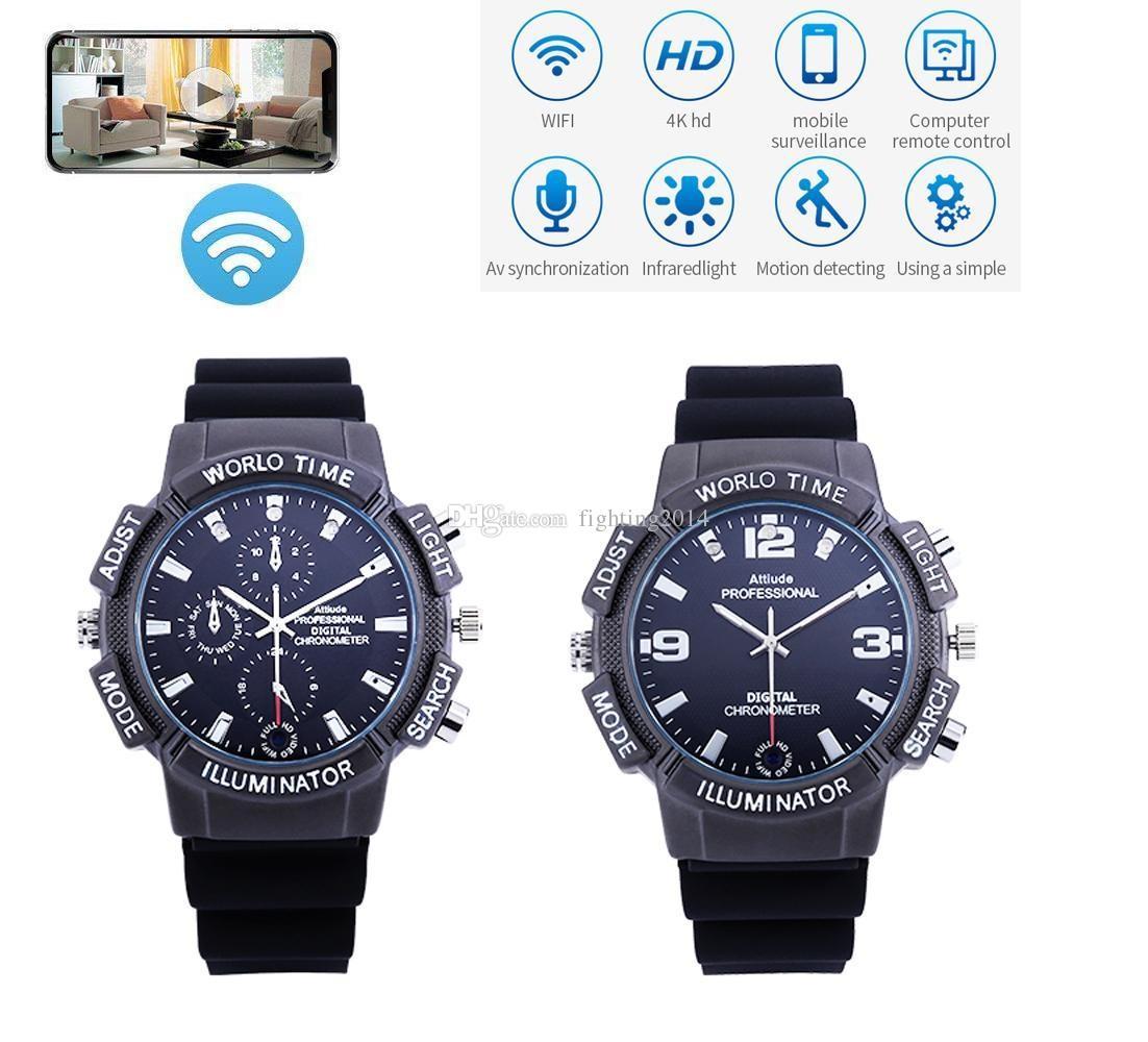 Remoto 2k Tarjeta Reloj Tf Video Wifi Cámara De Pulsera 1080p Soporte Inalámbrico 4k Control Hd Mini Dvr Yvybf7g6
