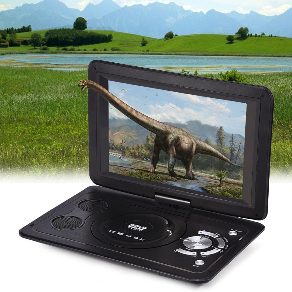 Powstro 139 Inch 110 240V HD TV Portable DVD Player 800480 Resolution 169 LCD Screen For EU Plug Players 2018 Dvd Movies From Miumiu1